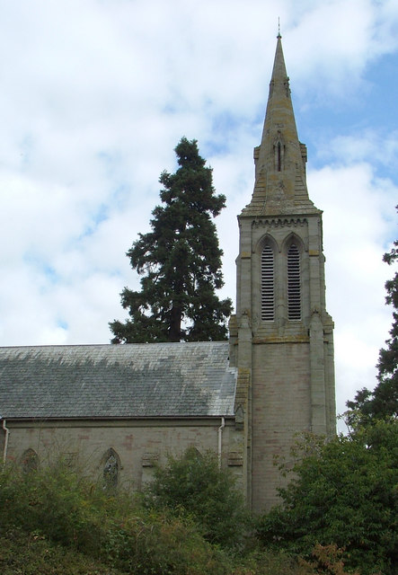 St.Mary's Church, Yazor, Hereford.