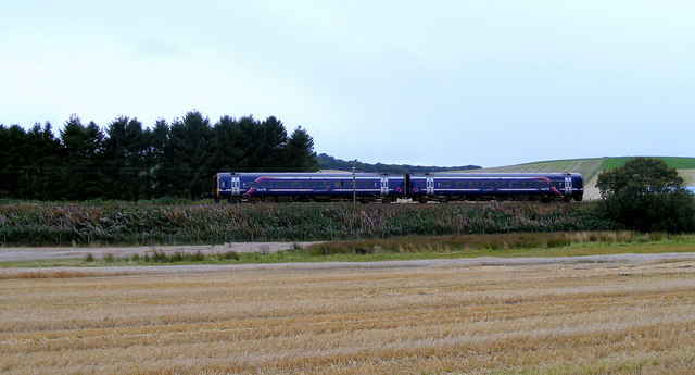 Train from Aberdeen to Inverness