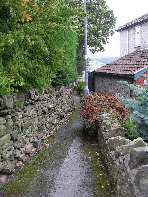 Footpath - Dradishaw Road