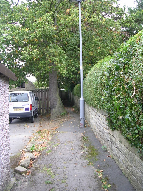 Footpath - Elm Grove