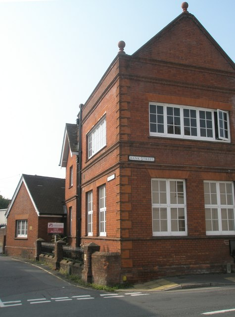 The old school in Bank Street