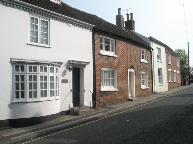 Houses in Bank Street