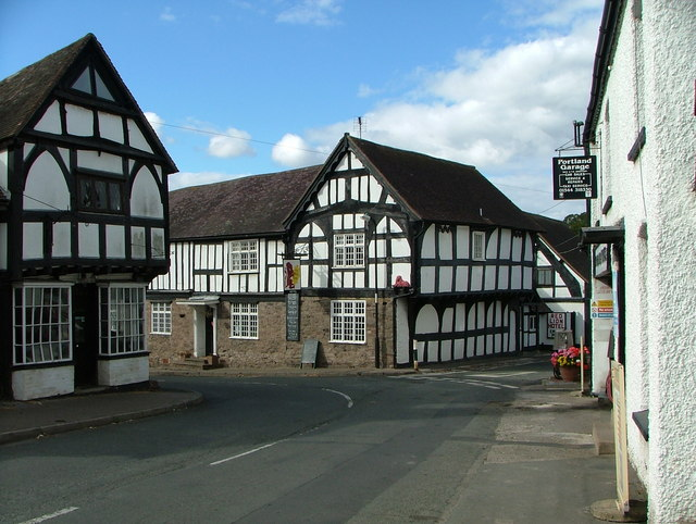 The Red Lion, Weobley.
