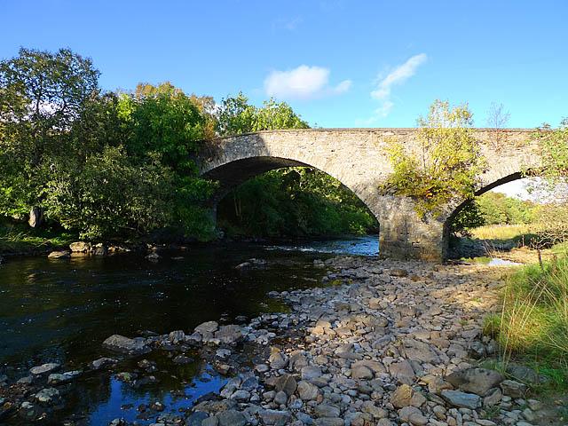 Bridge over the River Braan at Dullator