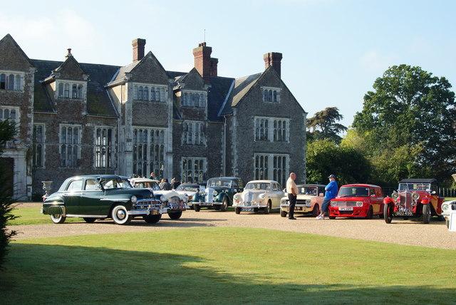Car Rally at Loseley House, Surrey