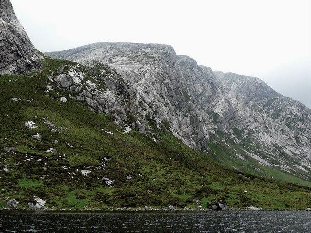 Creag Urbhard, Loch Dionard