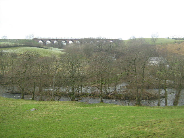 Looking towards Lowgill Viaduct