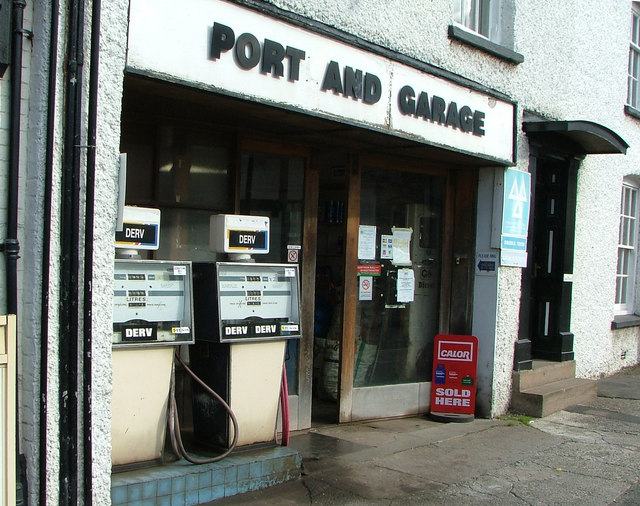 Port and Garage (More like Portland Garage)