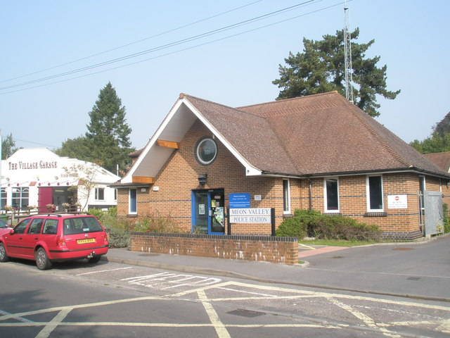 Meon Valley Police Station in Hoe Road