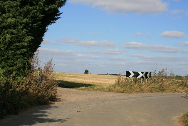 Bend in Kilkenny Lane, Carterton