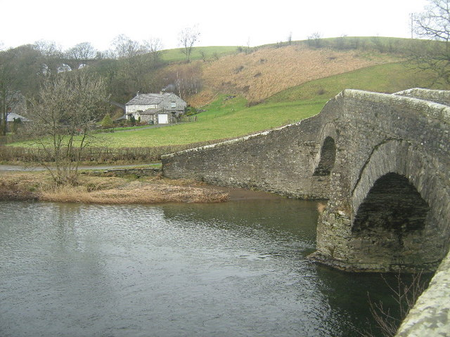 River Lune and Pool House