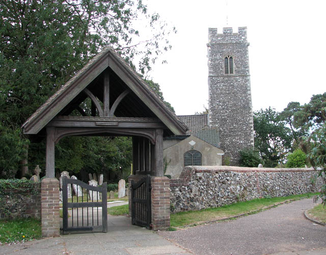 St John the Baptist's church - lych gate