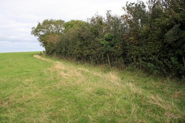 Public footpath near Plas Lligwy, Anglesey