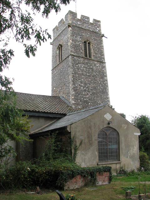 St John the Baptist's church - vestry