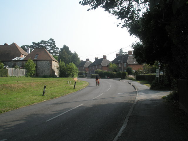 Cyclist in Hoe Road