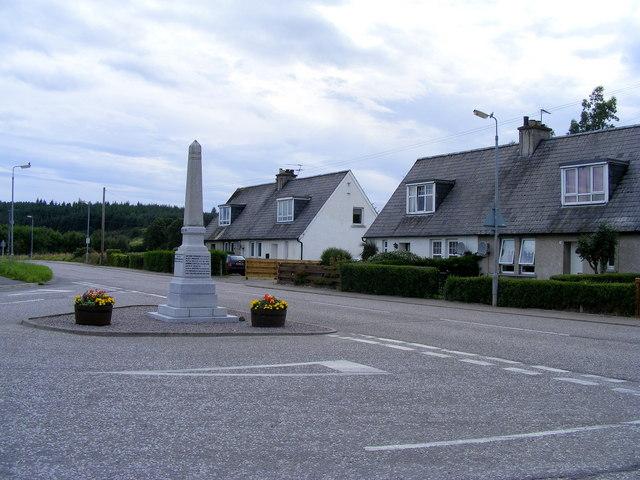 Miltonduff War Memorial