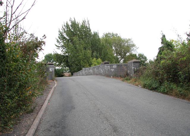 Bridge over railway line