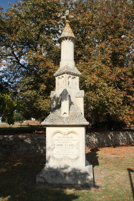 John Clare memorial