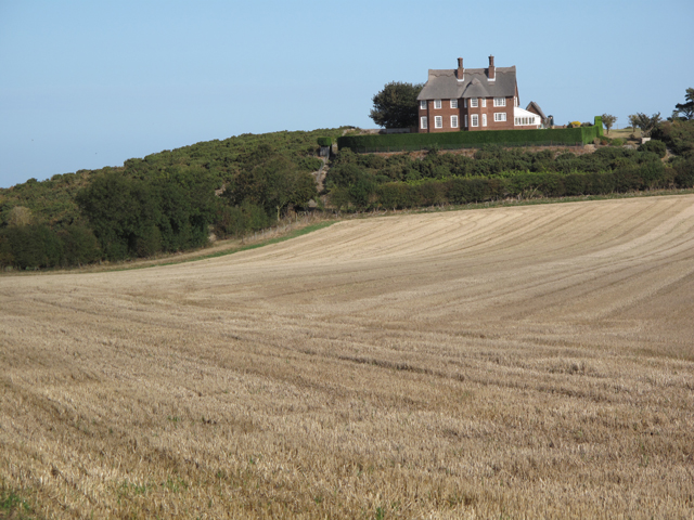 House on Blakeney Downs near the disused quarry