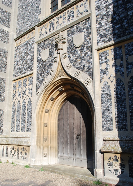 West door, Holy Trinity church