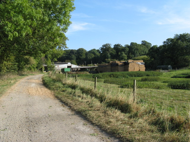 Farm track to New Barn