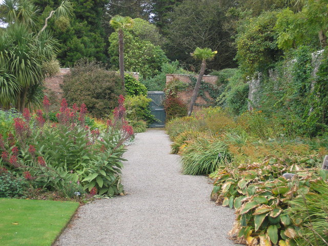 The Laird's Gate in the Logan Botanic Garden