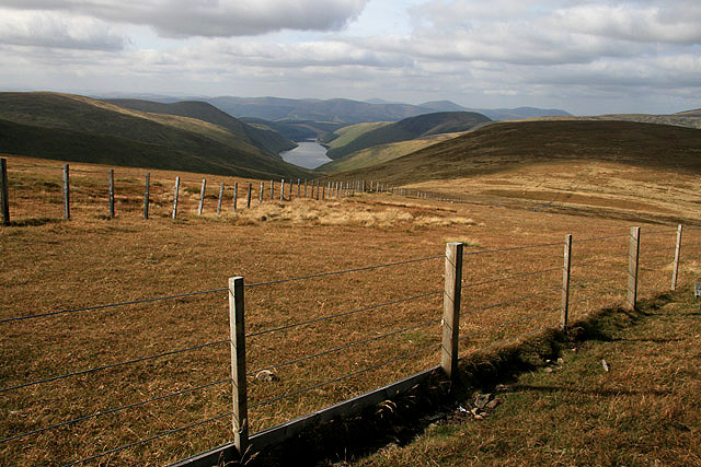 Two fences on Talla East Side