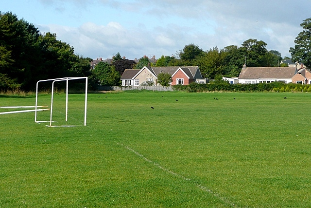 Playing field at Hipsburn