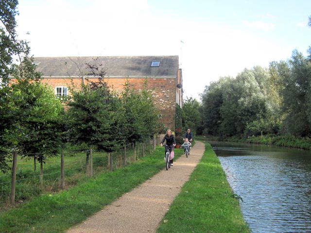 "Grand Union Canal: Dudswell ""Mill""and Wharf"