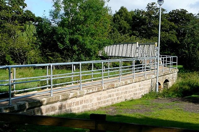 Bridge over the River Aln