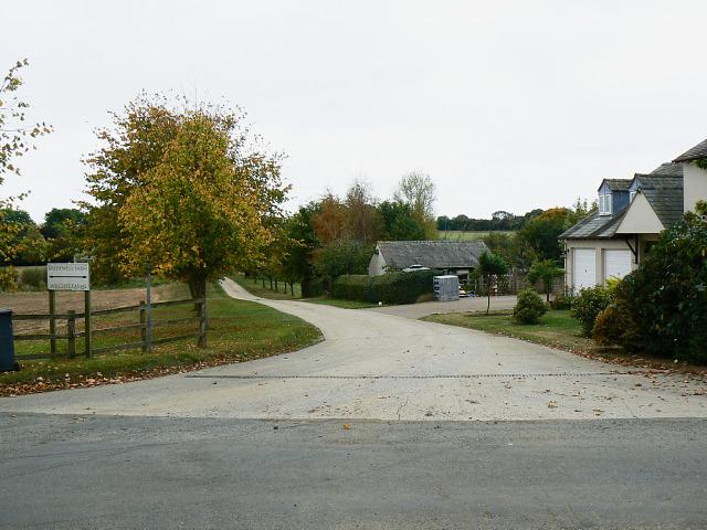 Bridleway to Bridewell Farm, East End, Witney