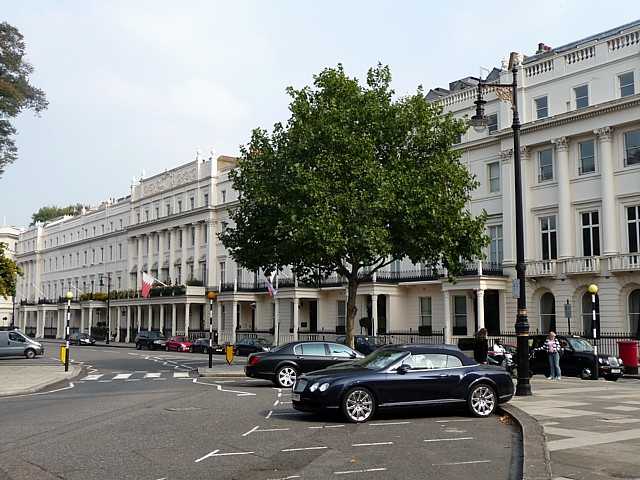 South-east terrace of Belgrave Square (1)