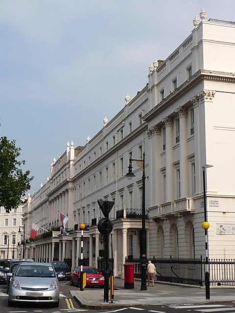 South-east terrace of Belgrave Square (2)
