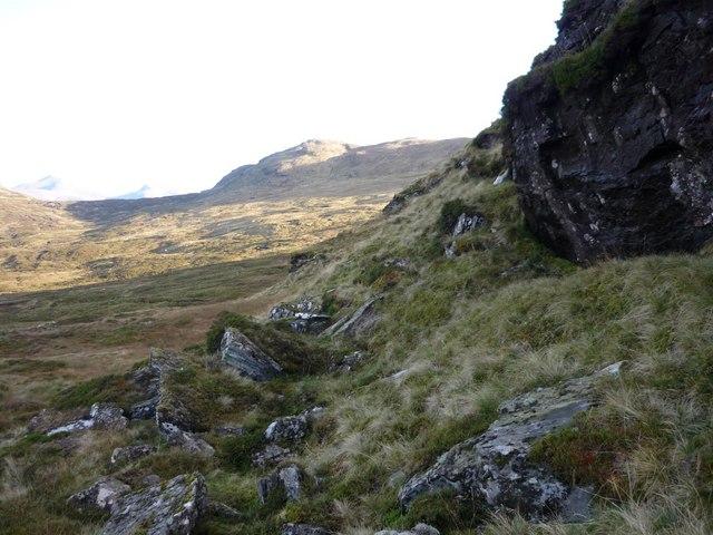 Crags above Gleann Dubh