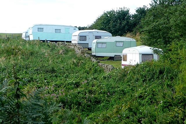 Caravan park at Marden House