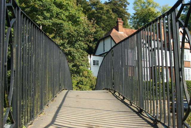 Bridge Across the Wey, Surrey
