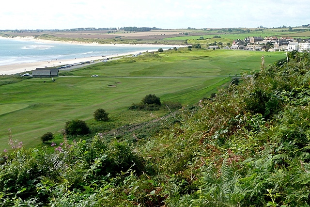 Overlooking Alnmouth Bay