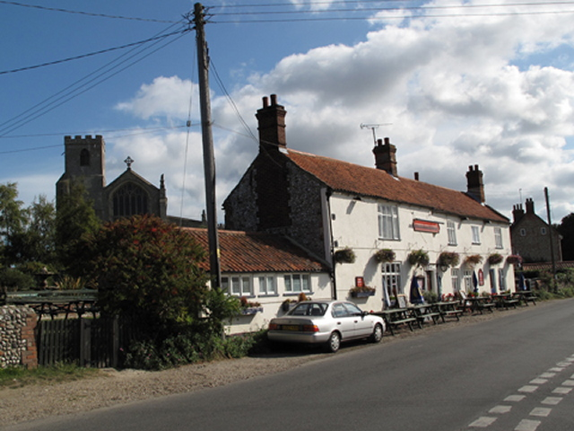 The Three Swallows Pub in Cley next the Sea