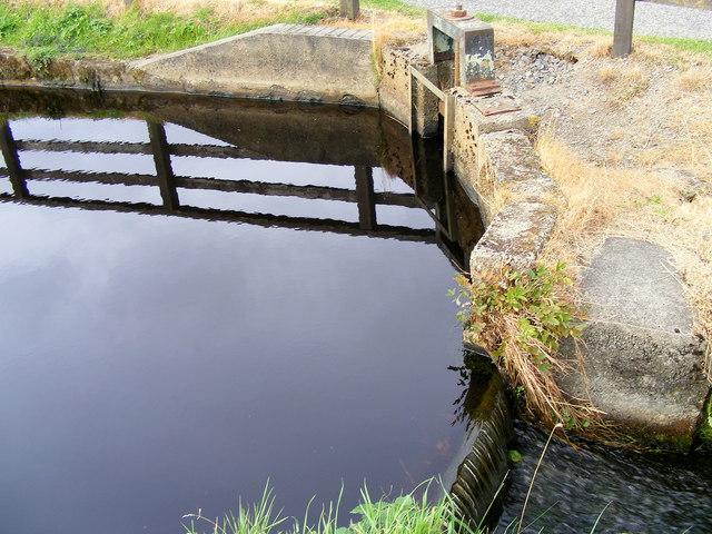 A Sluice at the Dam