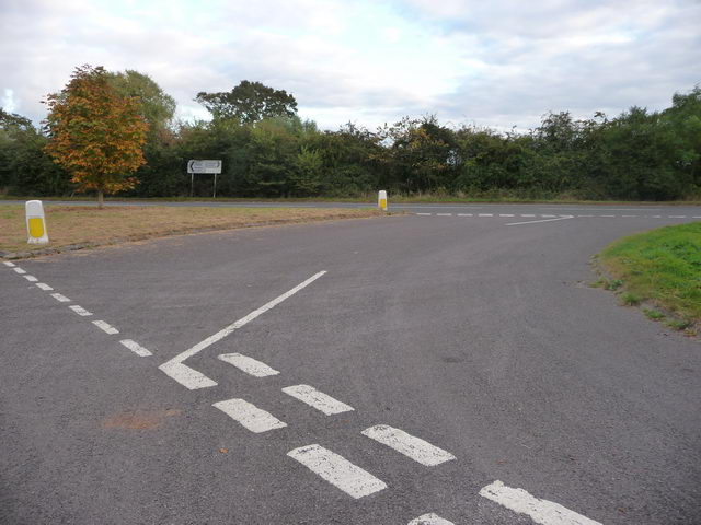 Turn right for Droitwich.