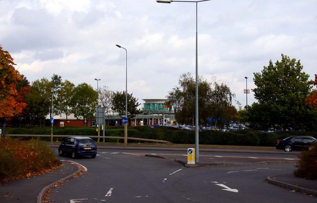 Junction with Tollgate Way