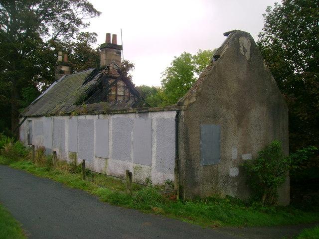 Towpath ruin