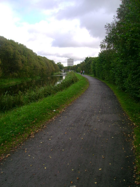 Forth and Clyde Canal towpath