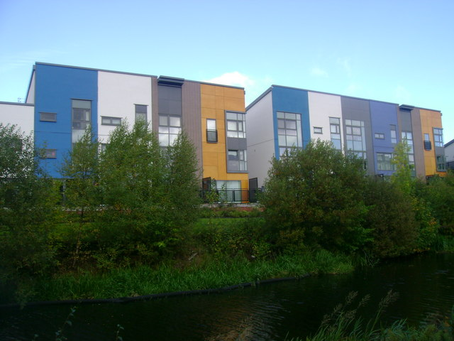 Mondriaan complex buildings