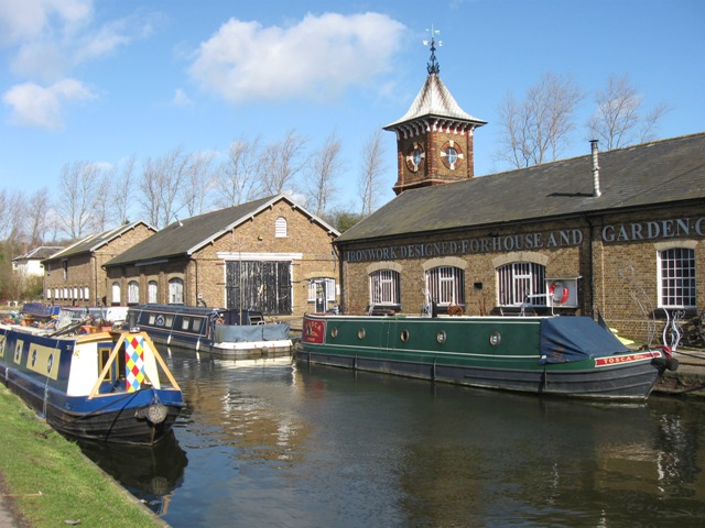Grand Union Canal: The Bulbourne Workshops