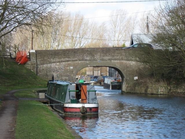 Grand Union Canal: Bulbourne Bridge No 133, near Tring