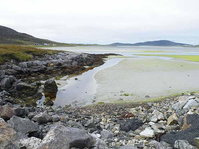 Tidal flats at Seilebost