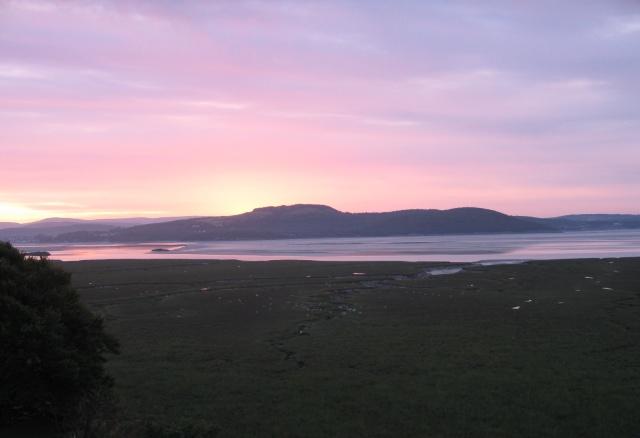 Sunrise at Grange-over-Sands