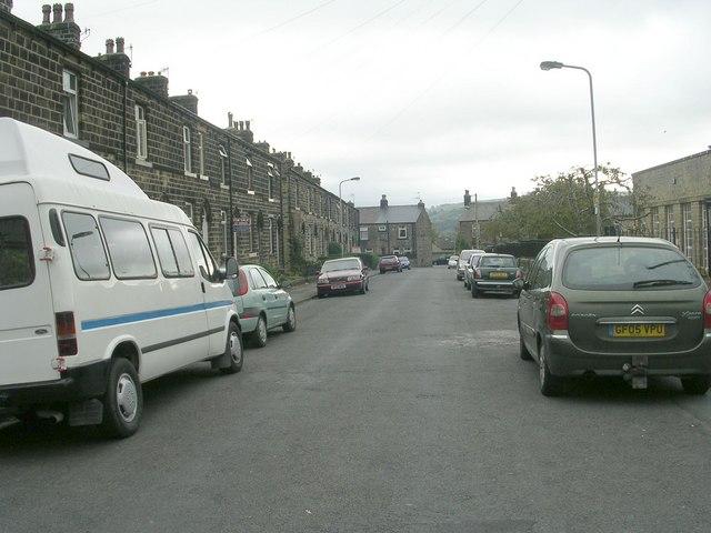 Hothfield Street - viewed from Norton Street