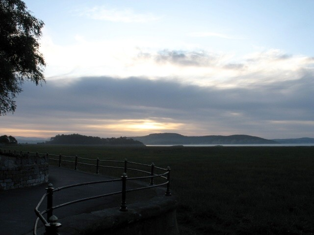 Sunrise at Grange-over-Sands